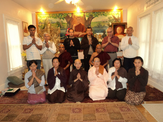 Myanmar New Year Vipassana Retreat